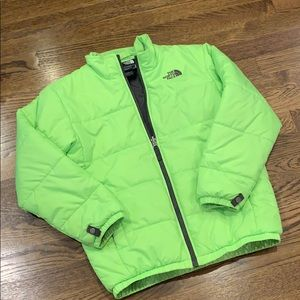 The North Face boys puffer jacket, M, 10/12